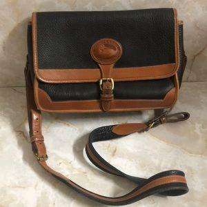 Dooney & Bourke vintage navy blue crossbody purse